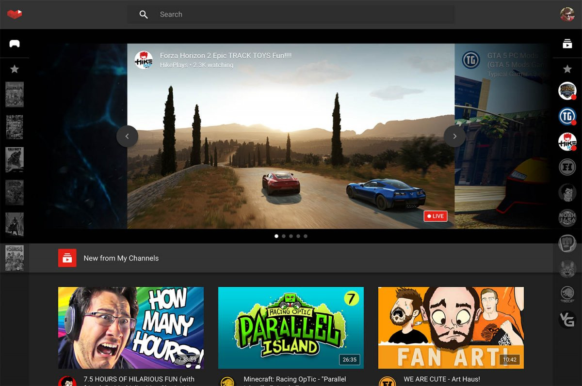 August 2015: Google launches 'YouTube Gaming,' an easy way for gamers to live broadcast their play sessions to a live audience, which also lets them interact and chat in real-time. The service is meant to counter Amazon-owned Twitch, the current dominant force in that market.